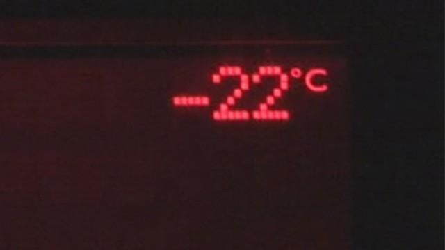 Başkent -22 derece ile buz kesti