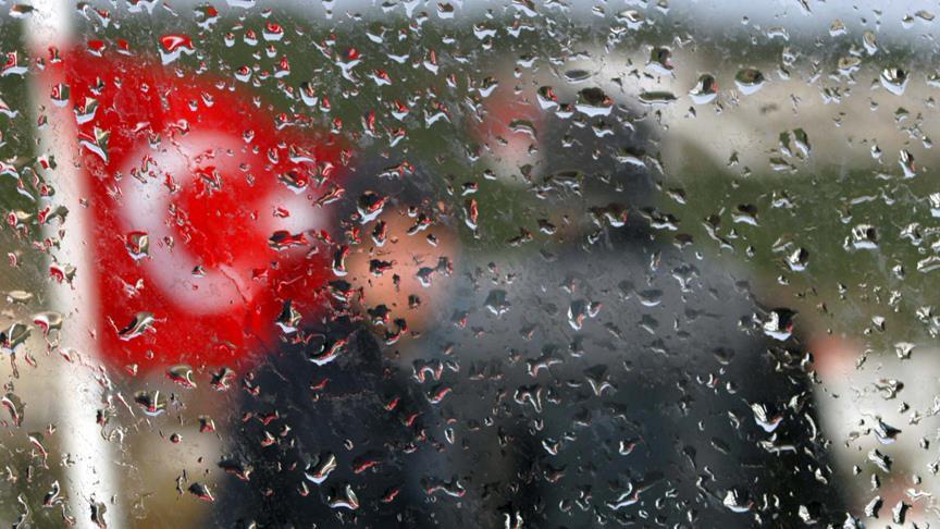 Meteorolojiden 2 bölge için yağış uyarısı