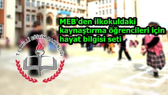MEB'den ilkokuldaki kaynaştırma öğrencileri için hayat bilgisi seti