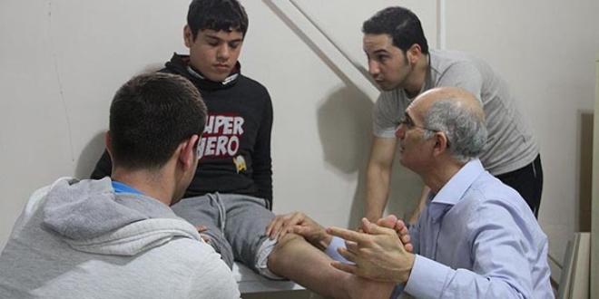 Engelli çocukların 'gönüllü' doktoru
