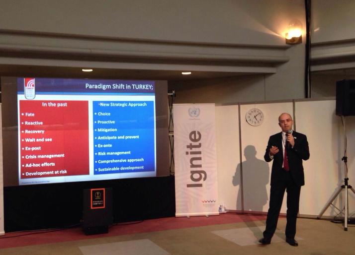 İstanbul'un Afet Risk Azaltma Çalışmaları Japonya'da Tanıtıldı