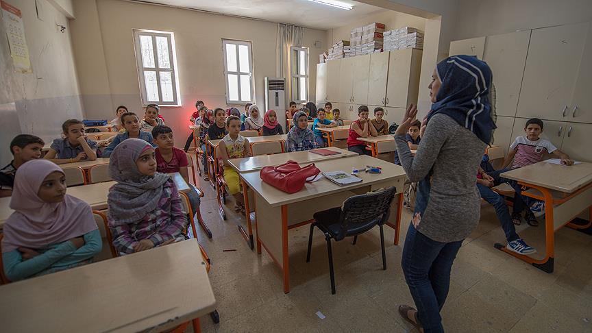 Türkiye'de eğitim gören Suriyeli sayısı artıyor