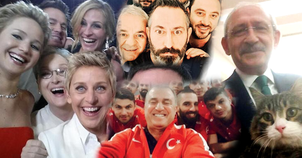 Yılın En Ünlü Selfie'leri...