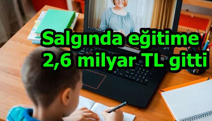 Salgında eğitime 2,6 milyar TL gitti