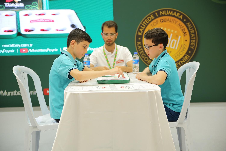 İlkokul öğrencileri mangala turnuvasında yarıştı