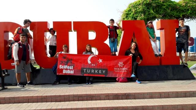 Dubai Science Fest 2016'ya Türkiye'den Mektebim katıldı…