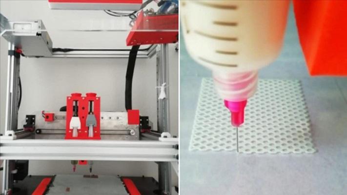Gebze Teknik Üniversitesinde 3D biyoyazıcı geliştirildi
