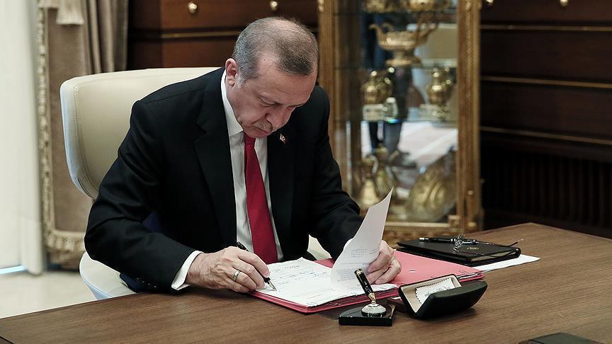 Cumhurbaşkanı Erdoğan'dan 8 üniversiteye rektör ataması