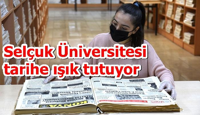Selçuk Üniversitesi tarihe ışık tutuyor