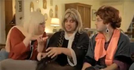 3 Adam'ın Anneleri Beyaz'ın Evine Konuk Oldu