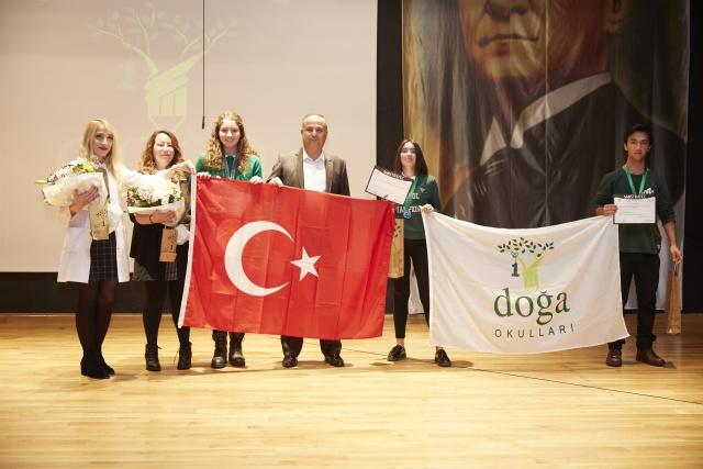 Mostratec Bilim Olimpiyatları'nda Doğa Okulları'na iki ödül birden