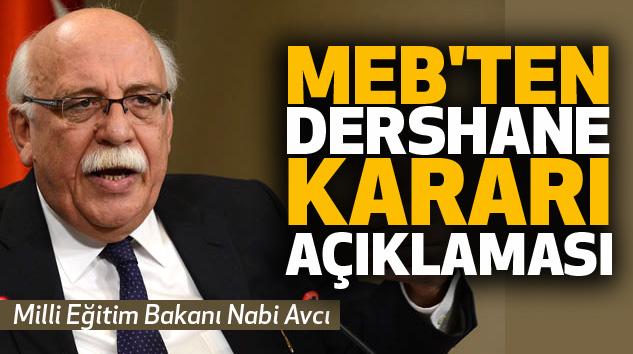 MEB'in Dershane Toplantısında Hangi Kritik Karar Çıktı?