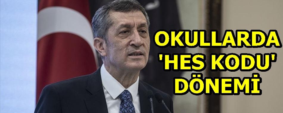 OKULLARDA 'HES KODU' DÖNEMİ