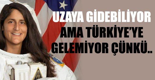 NASA astronotunun Türkiye'ye gelmesine izin vermedi