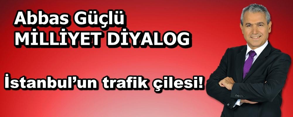İstanbul'un trafik çilesi!