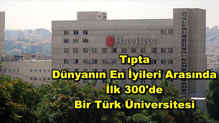Hacettepe Üniversitesi sağlık alanında dünyanın en iyileri arasında
