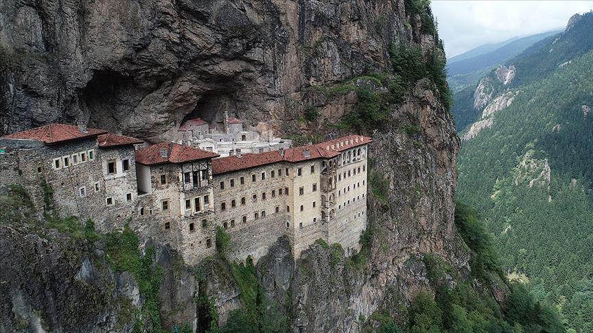Sümela Manastırı'na 4 ayda 220 bin ziyaret