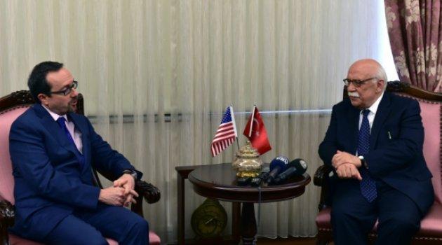 Bakan Avcı, ABD Büyükelçisi Bass'ı kabul etti