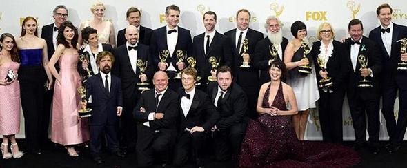 """67. Emmy Ödüllerine """"Game of Thrones"""" damgası"""
