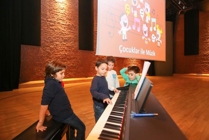 Zorlu'da, Çocuklara Özel Müzik Atölyeleri!