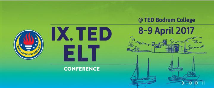 Dokuzuncu TED ELT Konferansı 8 Nisan'da!