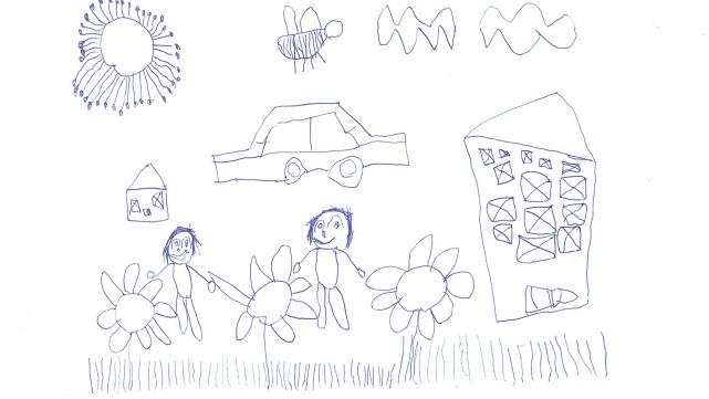 Çocuğunuz böyle resimler çiziyorsa..