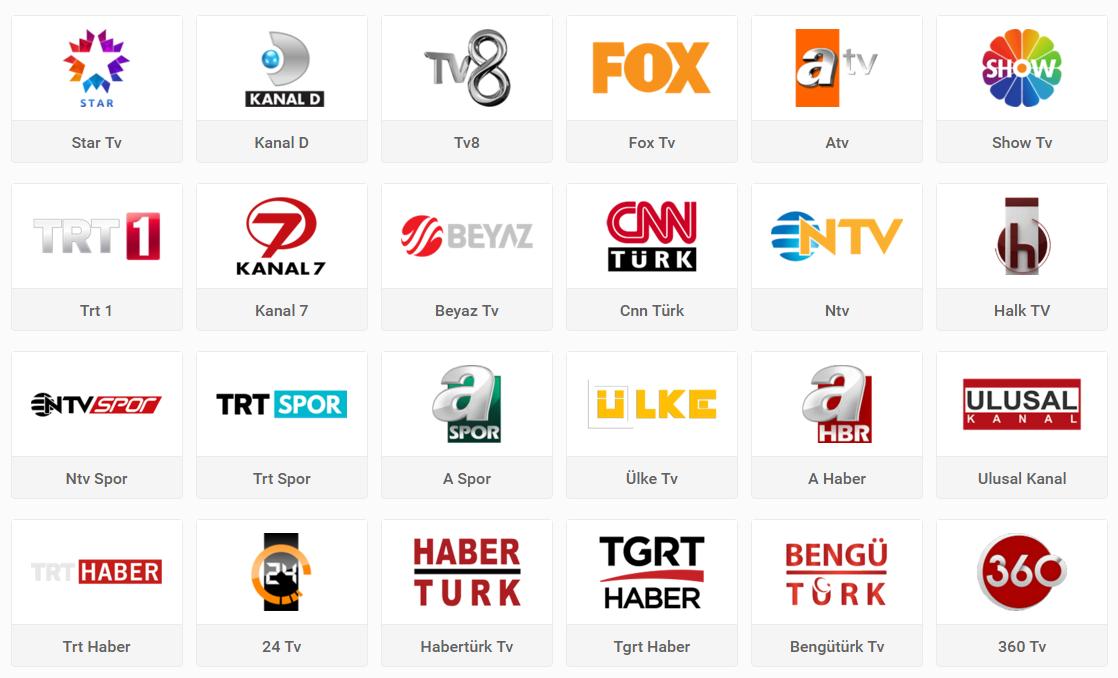 Mobil Tv izle - Trt 1, Ntv, Halk Tv, Habertürk Tv