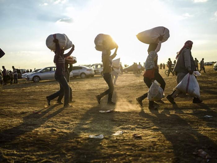 Dünyada yerinden edilenlerin sayısı 65 milyonu aştı