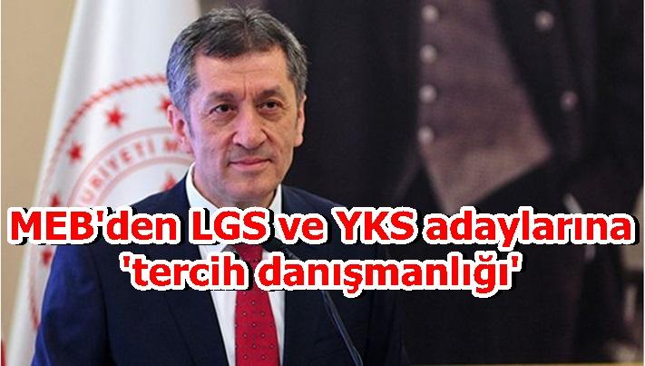 MEB'den LGS ve YKS adaylarına 'tercih danışmanlığı'