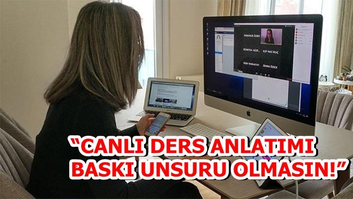 """CANLI DERS ANLATIMI BASKI UNSURU OLMASIN!"""