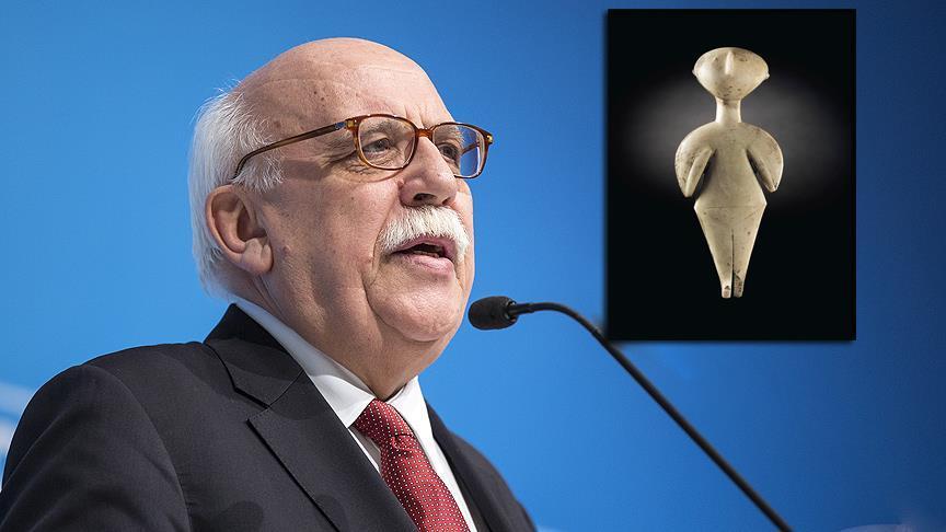 Bakan Avcı: 'Guennol Yıldız Avcısı' heykelinin satışının durdurulması için girişimde bulunduk