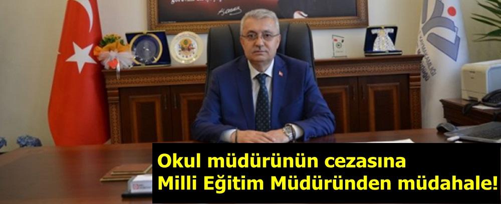 """""""MEB o müdürün cezasını kınamaya çevirdi"""" iddiası"""