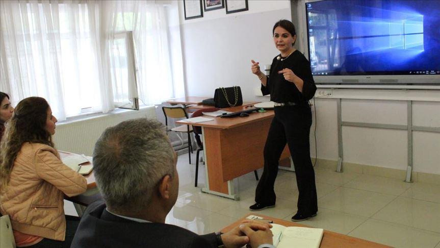 Haber sunucularından öğretmenlere diksiyon eğitimlerinin ilk etabı tamamlandı