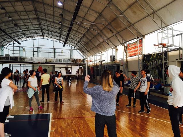 Ünsal Okulları Spor - Bahar Şenliği Başladı