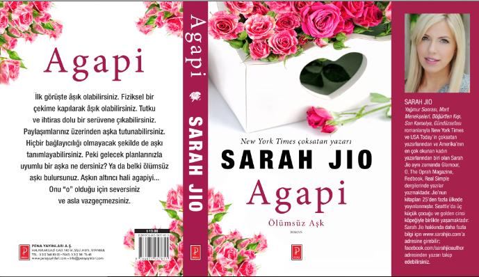 Sarah Jio'dan ölümsüz aşkın hikâyesi Agapi