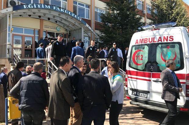Eskişehir Osmangazi Üniversitesi'nde silahlı saldırı: 4 kişi hayatını kaybetti