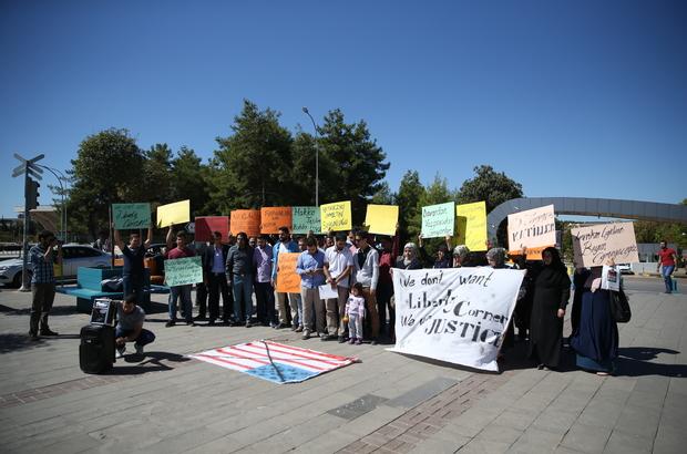Gaziantep'te üniversite öğrencilerinden eylem