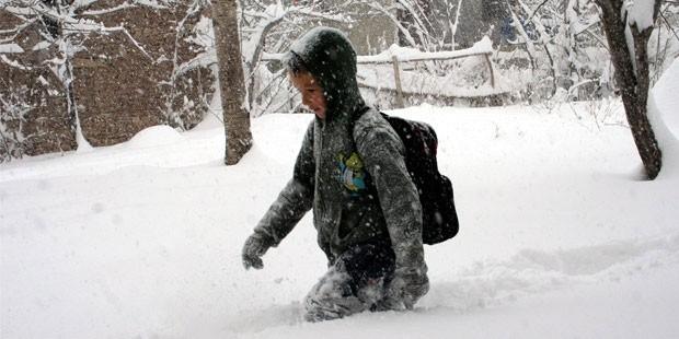 2018'in ilk kar tatili geldi