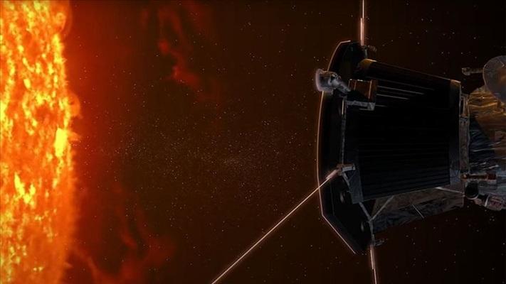 NASA'nın Parker Uydusu Güneş'e beşinci yakın geçişini yaptı