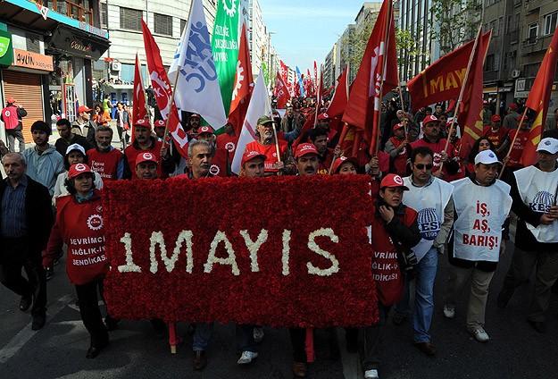 İşçiler farklı alanlarda 1 Mayıs'ı kutlayacak