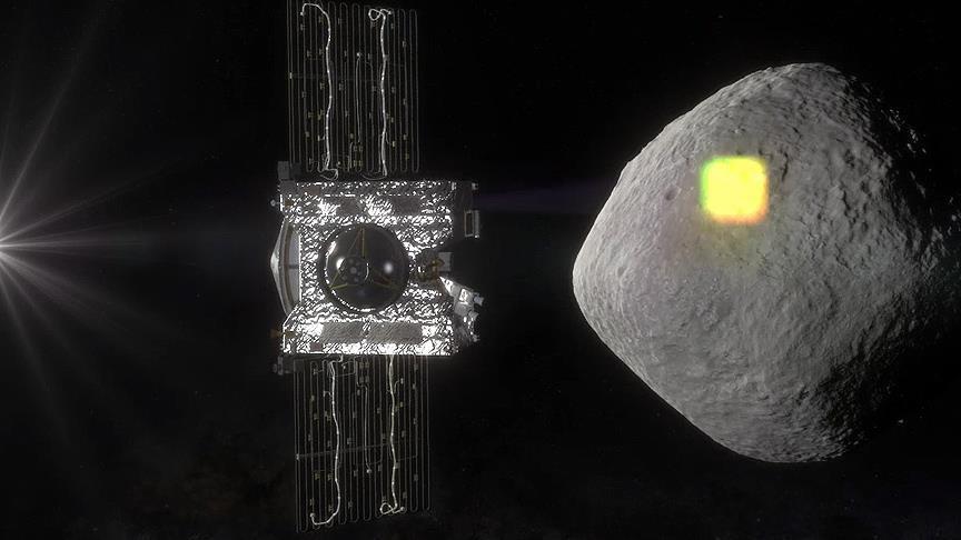 NASA uzay aracı gök taşında su kalıntıları buldu!