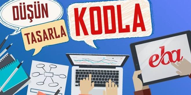 EBA'da 'kodlama eğitim sistemi' erişime açıldı