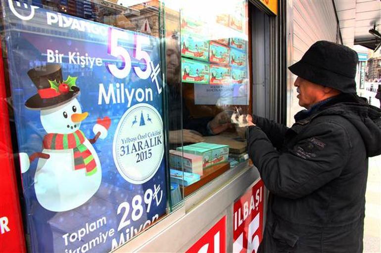 Yeni yılın milyonerleri belli oluyor