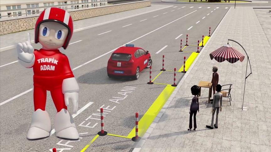 Ehliyet sınavlarının kalitesi 'Trafik Adam' ile artacak