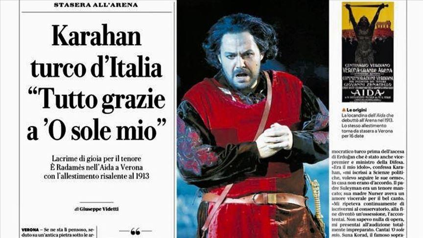 Murat Karahan için 'İtalya'nın Türk'ü' tanımlaması