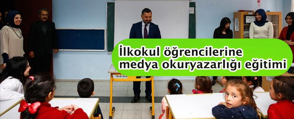 İlkokul öğrencilerine medya okuryazarlığı eğitimi