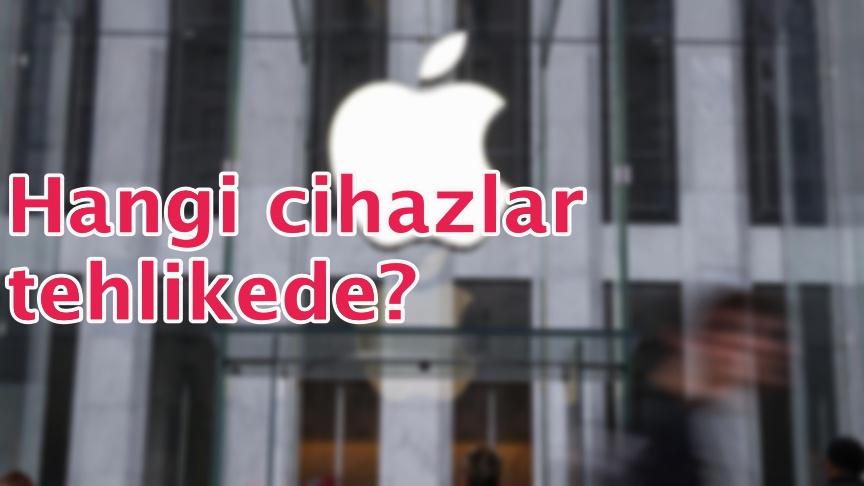 Apple'dan itiraf!