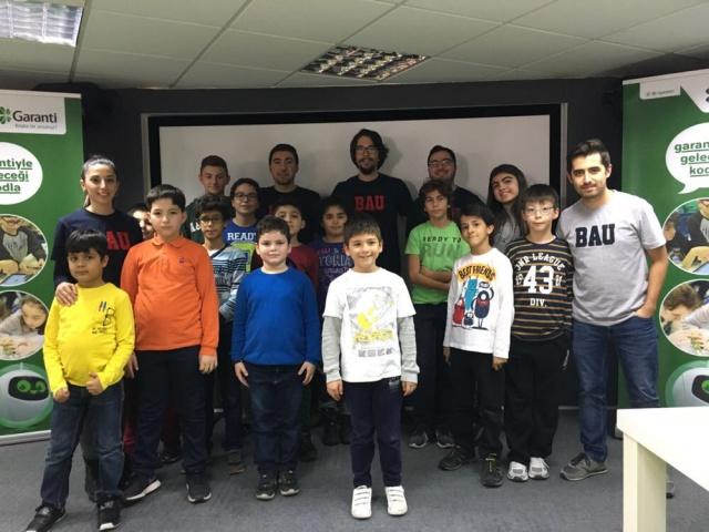 """""""Garanti'yle Geleceği Kodla"""" atölyesinde çocuklar, kodlama, yaratıcı düşünme ve robotikle tanıştı"""