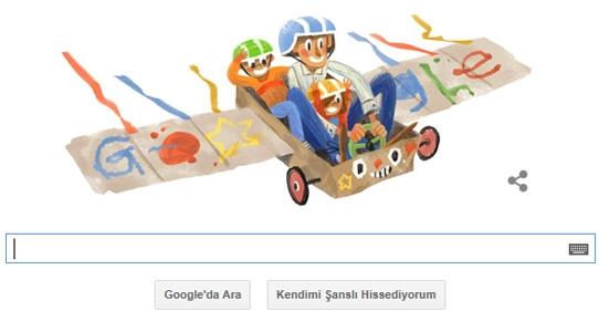 Google'dan 'en baba' doodle