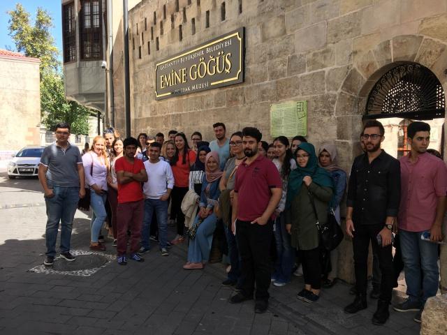 Yeni Üniversite Öğrencileri Gaziantep'i Yakından Tanıdı
